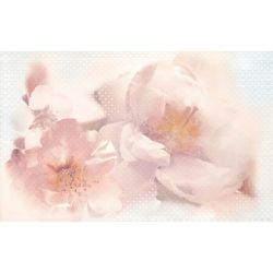 Плитка декор «Violeta» 25*40 | цветок