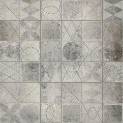 Плитка напольная «Bristol» 42*42 | грей мозаика