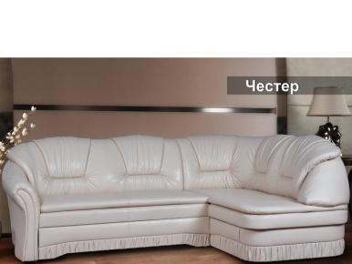 Фото Диван-кровать угл. мех. трансформ. Выкатной. «Честер» - sofino.ua
