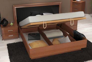 Кровать двуспальная «Белла рамка» с подъемным механизмом 1,6