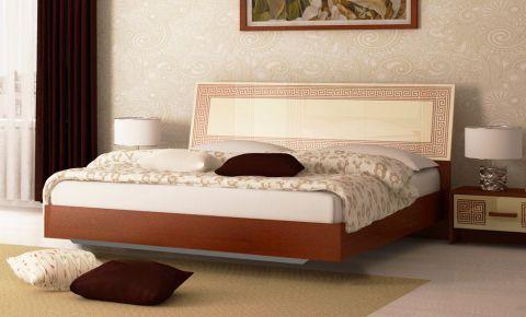 Фото Двуспальная кровать «Виола Вишня»  - sofino.ua