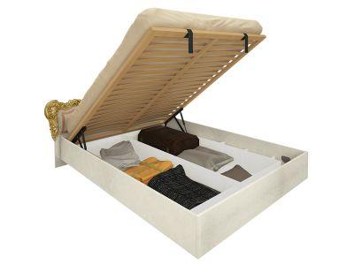 Ліжко Міромарк «Дженніфер» 160х200 (З механізмом ламелі крок 6 см) Радіка беж