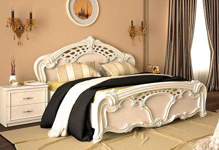 Ліжко для спальні Міромарк Олімпія ДСП Радіка беж