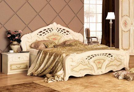 Ліжко для спальні Міромарк Реджина ДСП Радіка беж