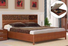 Фото Двуспальная кровать с механизмом «Флора» - sofino.ua