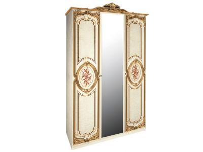Шкаф 3д «Реджина голд» с зеркалом