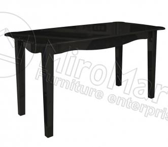 Стол столовый «Пиония» глянец белый