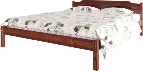 Фото Кровать деревянная «Луиза» массив сосны - sofino.ua