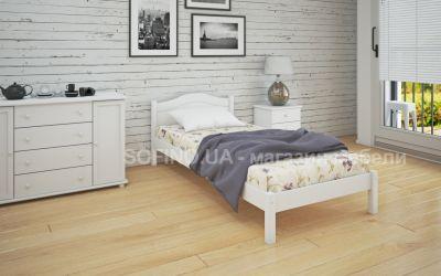 Кровать односпальная Луиза | л-104 | 80*200 | белый