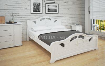 Кровать двуспальная «Л-221» 160*200 | белый