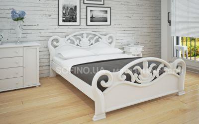 Кровать двуспальная «Л-222» 160*200 | белый
