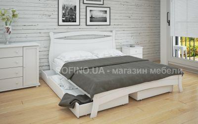 Кровать двуспальная Натали | л-209 | 160*190 | с ящиками | белый