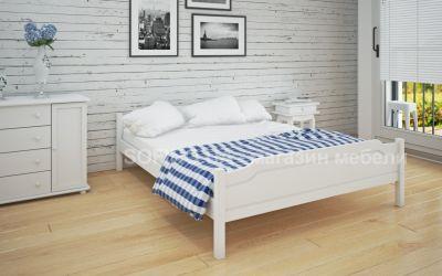 Кровать двуспальная Валери | л-201 | 120*190 | белый