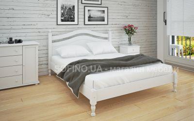 Кровать двуспальная Люси | л-208 | 140*190 | белый