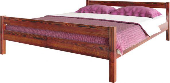 Фото Кровать деревянная «Л-220» массив сосны - sofino.ua