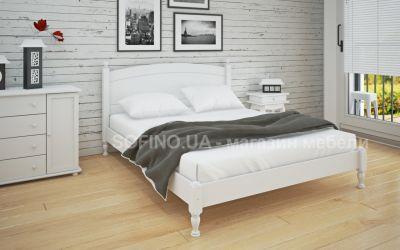 Кровать двуспальная Мэрджори | л-207 | 140*190 | белый