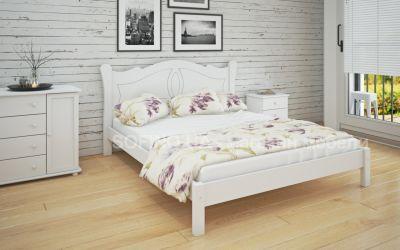 Кровать двуспальная Орианна | л-218 | 140*190 | белый