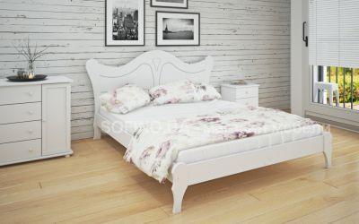Кровать двуспальная Розали | л-217 | 140*190 | белый