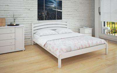 Кровать двуспальная Стефани | л-211 | 120*190 | белый