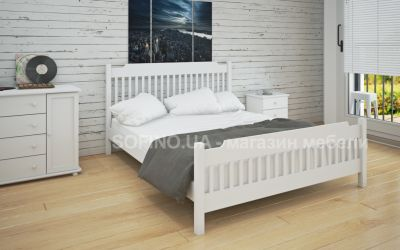 Кровать двуспальная Шанталь | л-212 | 120*190 | белый