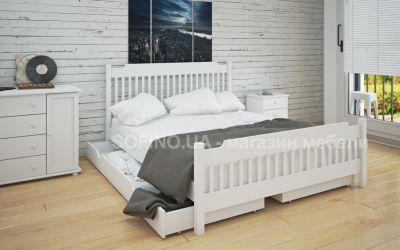 Кровать двуспальная Шанталь | л-212 | 120*190 | с ящиками | белый