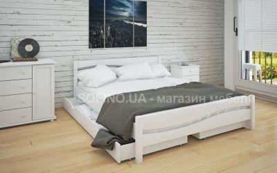 Кровать двуспальная Эмили | л-215 | 120*190 | с ящиками | белый