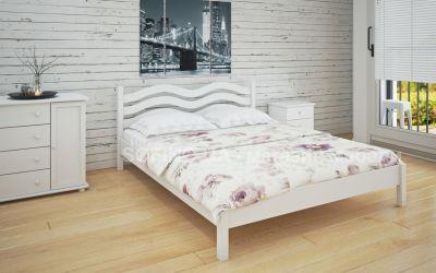 Кровать двуспальная Эстель | л-216 | 120*190 | белый