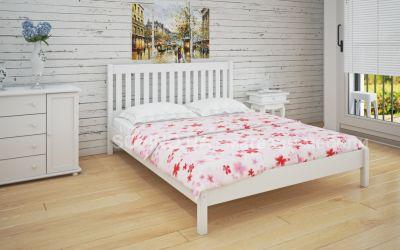Кровать двуспальная Джоси | л-202 | 120*190 | белый