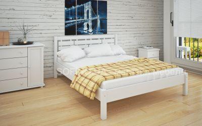 Кровать двуспальная «Л-219» 140*190 | белый