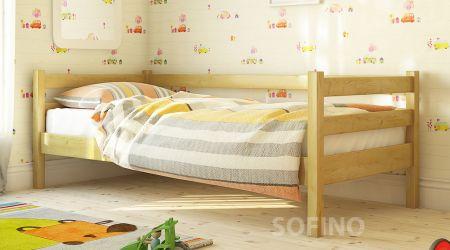 Кровать детская Арина | л-117| 80*190 | белый