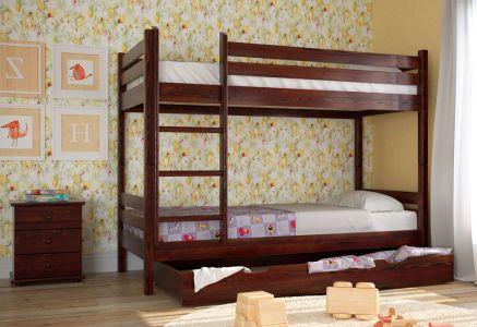 Ліжко Скіф Дерево Л-302 - Колір на вибір