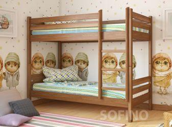 Кровать-трансформер двухъярусная | Кристи | л-302 | 90*200 | белый