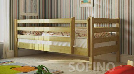 Кровать детская Лулу | лк-135 | 90*200 | с ящиками | белый