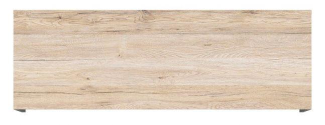 Шкафчик навесной SFW1K/120 «Моден» Серый вольфрам | Дуб Санремо светлый