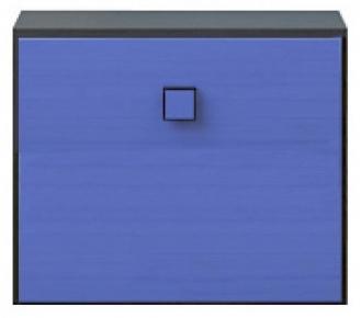 Тумба 1d (подставка) «Аватар» синий
