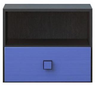 Тумба прикроватная 1s «Аватар» синий