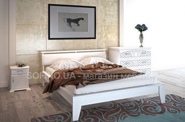 Кровать «Венеция» с мягким изголовьем 140*190 | белый