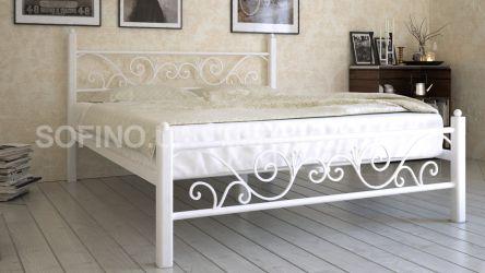 Кровать «Глория» 120*190 | белый