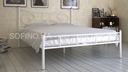 Кровать «Ювента» 120*190 | белый