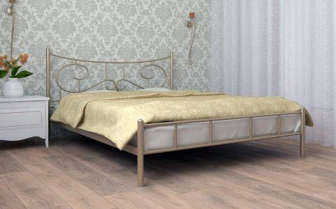 Ліжко для спальні Скам'я Ювента Метал