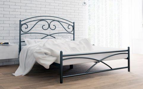 Фото Кровать металлическая «Лейла» - sofino.ua