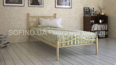 Кровать «Эрика» 80*190 | бежевый