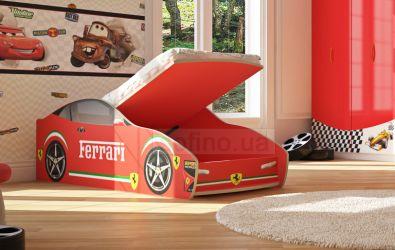 Кровать-машинка «Феррари с подъемником» 60*120