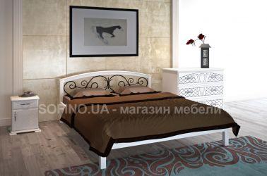 Спальня «Британия» с ковкой | белый | 140*190