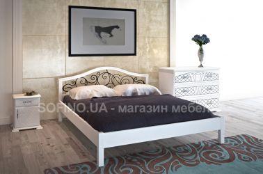 Спальня «Италия» с ковкой | белый | 140*190