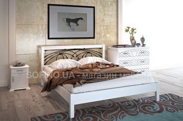 Спальня «Модерн» с ковкой | белый | 140*190