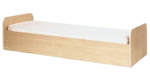 Кровать односпальная 80*190 «Савана» фисташковый/ваниль