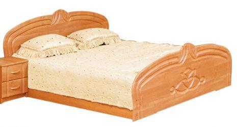 Кровать двуспальная 160*200 «Антонина» ольха матовый