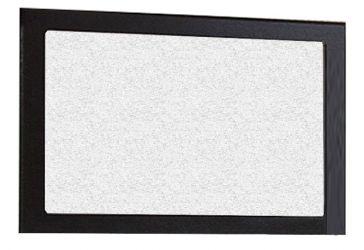 Зеркало «Тулуза» белый | темный венге