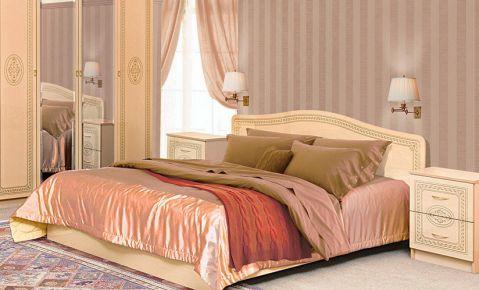 Кровать «Флоренция» венге светлый